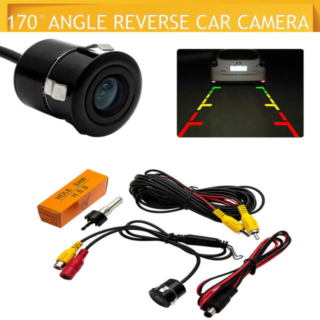 Waterproof Wide Night Vision HD Car Reverse Camera/Rear View Parking LED Sensor