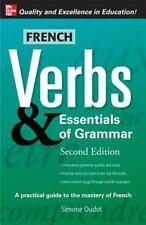 French Verbs & Essentials of Grammar, 2E (Verbs and Essentials of Grammar S