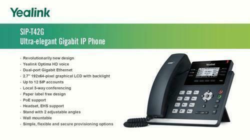 Yealink T42G IP Phone HD Voice