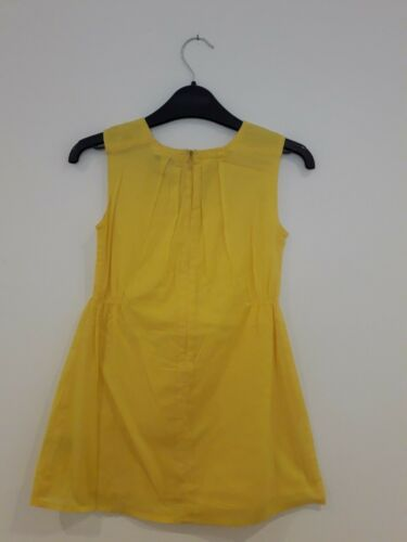 Ex M/&S Autograph Girls Yellow Party Dress 100/% Cotton Sizes 7-14 years