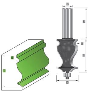HM- HW Langprofilfräser mit Kugellager Z=2 MAN geeignet S=8//12 mm SK1170 Fräser