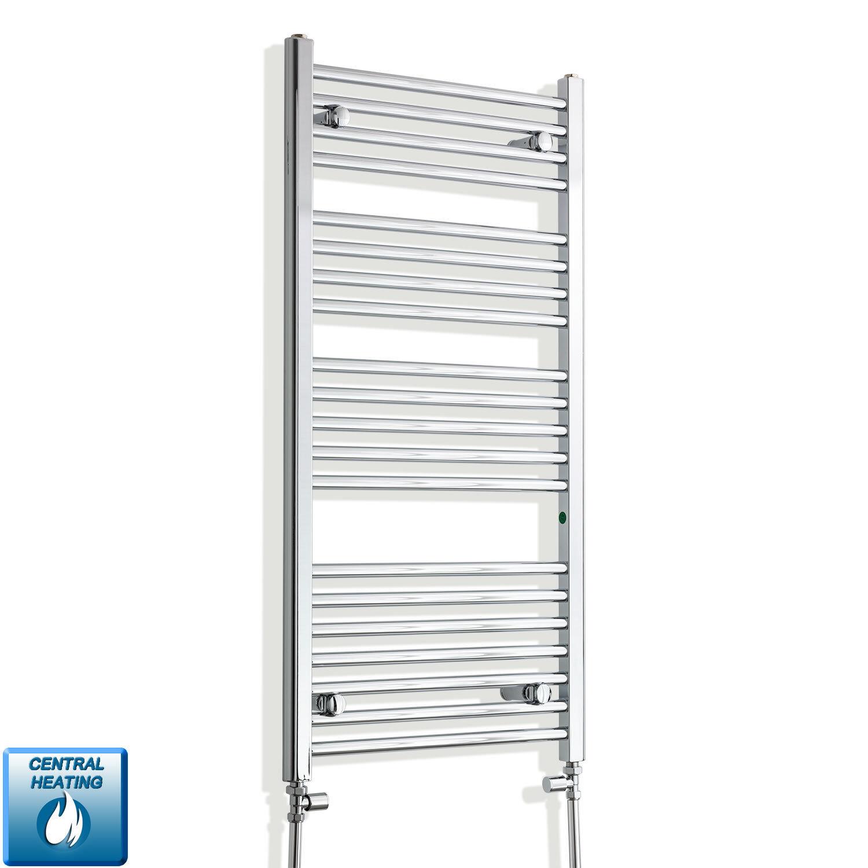1100 mm haut 550 mm Large Plat Chrome Sèche-Serviettes Radiateur Salle de bains Warmer
