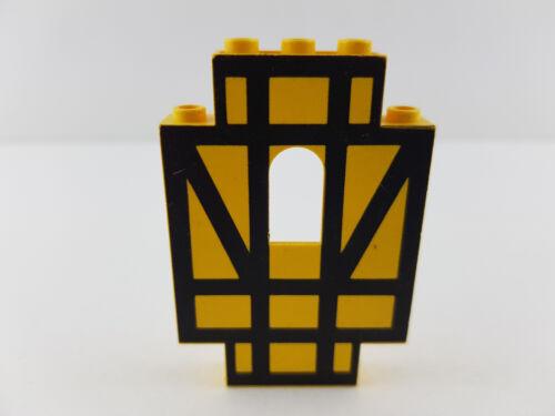 LEGO ® Truss Panel mur jaune 4444 pour Serrure Château Maison Mur Panneau Pierre