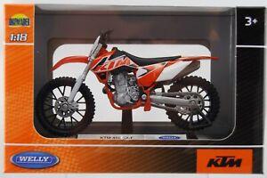 WELLY 1//18 KTM 450 SX-F MODELLINO