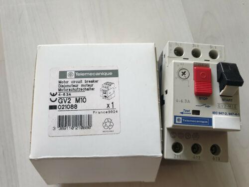 Telemecanique   GV2-M10  4-6.3A