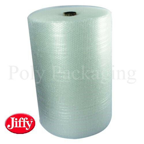 Jiffy marca piccolo pluriball 750mm x 100m 1 FULL Roll Premio Dritta Strappo