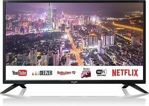 TELEVISORE-TV-32-034-SHARP-Aquos-SMART-Net-HARMAN-KARDON-DVB-T2-S2-32BC4E