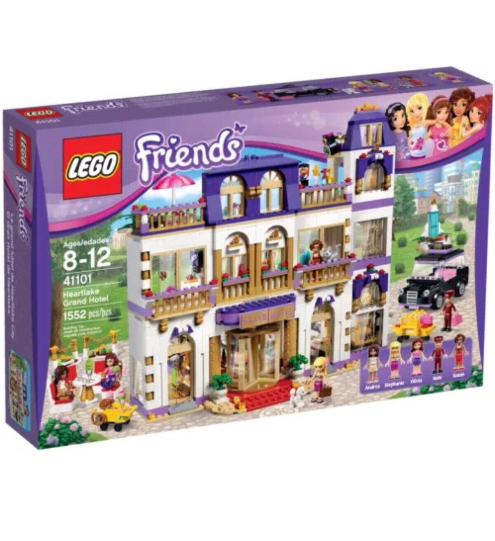Lego 41 amigos Heartlake Grand Hotel, Totalmente Nuevo Y Sellado.