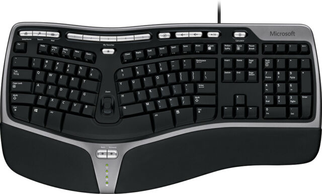 Microsoft - Natural Ergonomic Keyboard 4000 - Black