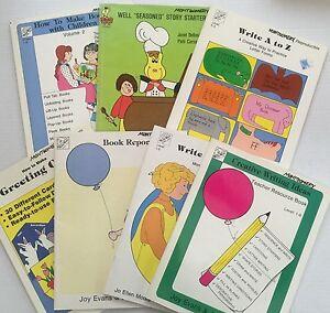 7 Children Creative Writing Resource Books Grade K-4 Reproducibles Homeschool