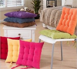 Terrific Details About Colorful Dining Garden Chair Seat Pads Upholstery Foam Tie Replacement Cushions Andrewgaddart Wooden Chair Designs For Living Room Andrewgaddartcom