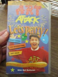 Art Attack Let039s Party VHS Video Tape  NEW - London, United Kingdom - Art Attack Let039s Party VHS Video Tape  NEW - London, United Kingdom