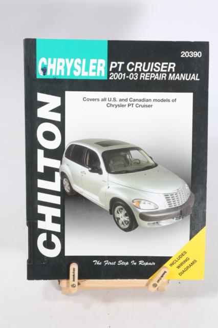 2003 Chrysler Pt Cruiser Shop Service Repair Manual For