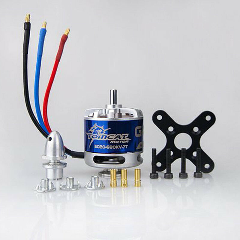 Tomcat Motor G46 KV680 Electronic Brushless for RC EDF Propeller Model Airplane