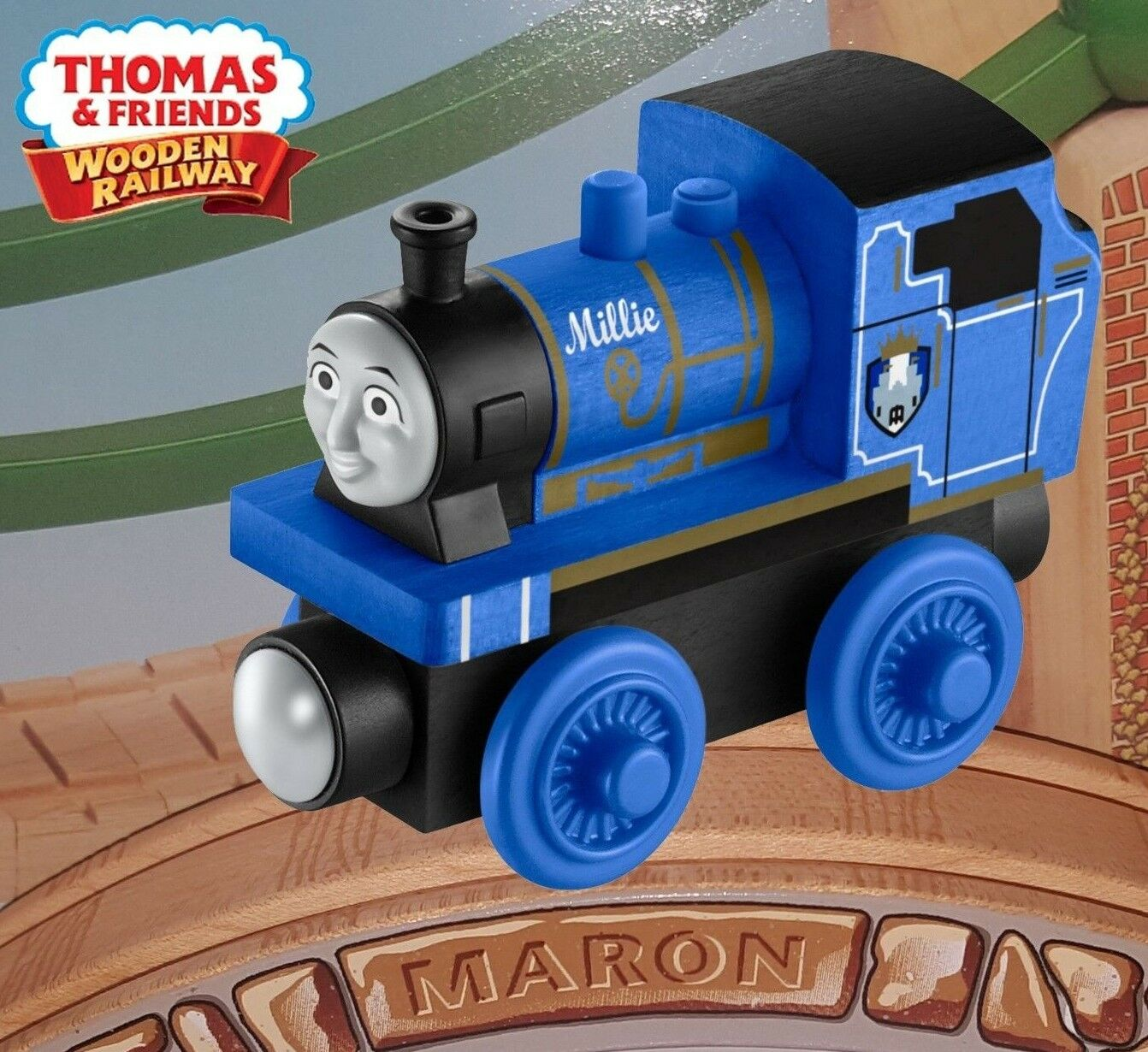 THOMAS & FRIENDS WOODEN RAILWAY     MILLIE  Y4486  Extremely hard to find d1482a