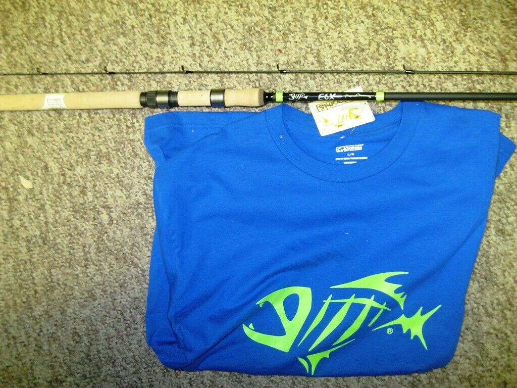 G LOOMIS E6X 12032S STFR 10'0 MEDIUM LIGHT 2PC SPIN FLOAT FREE LOOMIS TSHIRT