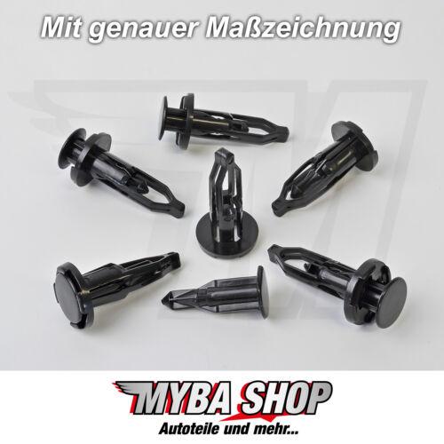 30x pare-choc Radhaus Calandre clips de fixation pour Toyota 5216120010 #neu