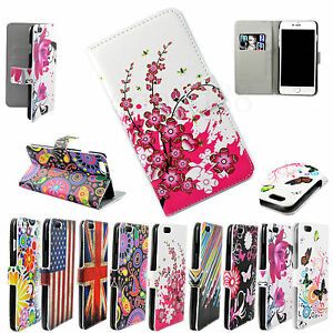 Flip-PU-Leather-Skin-Phone-Protector-Case-Stand-Wallet-Cover-For-Apple-iPhone