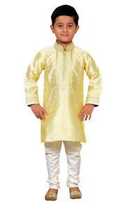 21cfe0404 Image is loading Boys-Indian-sherwani-Kurta-Churidar-pajama-for-Bollywood-