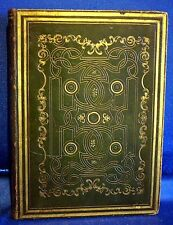 Jesus Leben - Buch von 1842 mit 10 Stahlstichtafeln - schöner Ganzmaroquin!