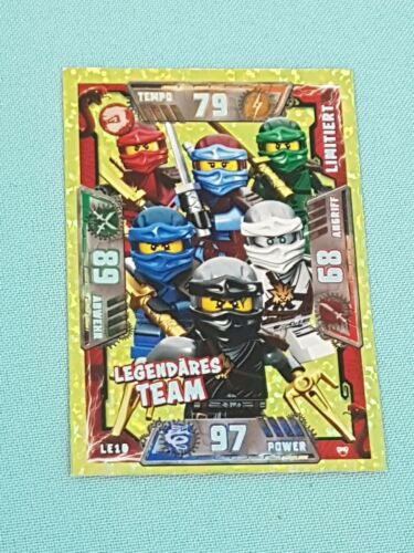 Lego Ninjago série 2 Trading Card Game édition limitée cartes Choisir