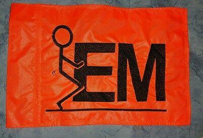 Custom F EM ATV Safety Replacement Whip Flag Great 4 Jeep UTV Trike Bike