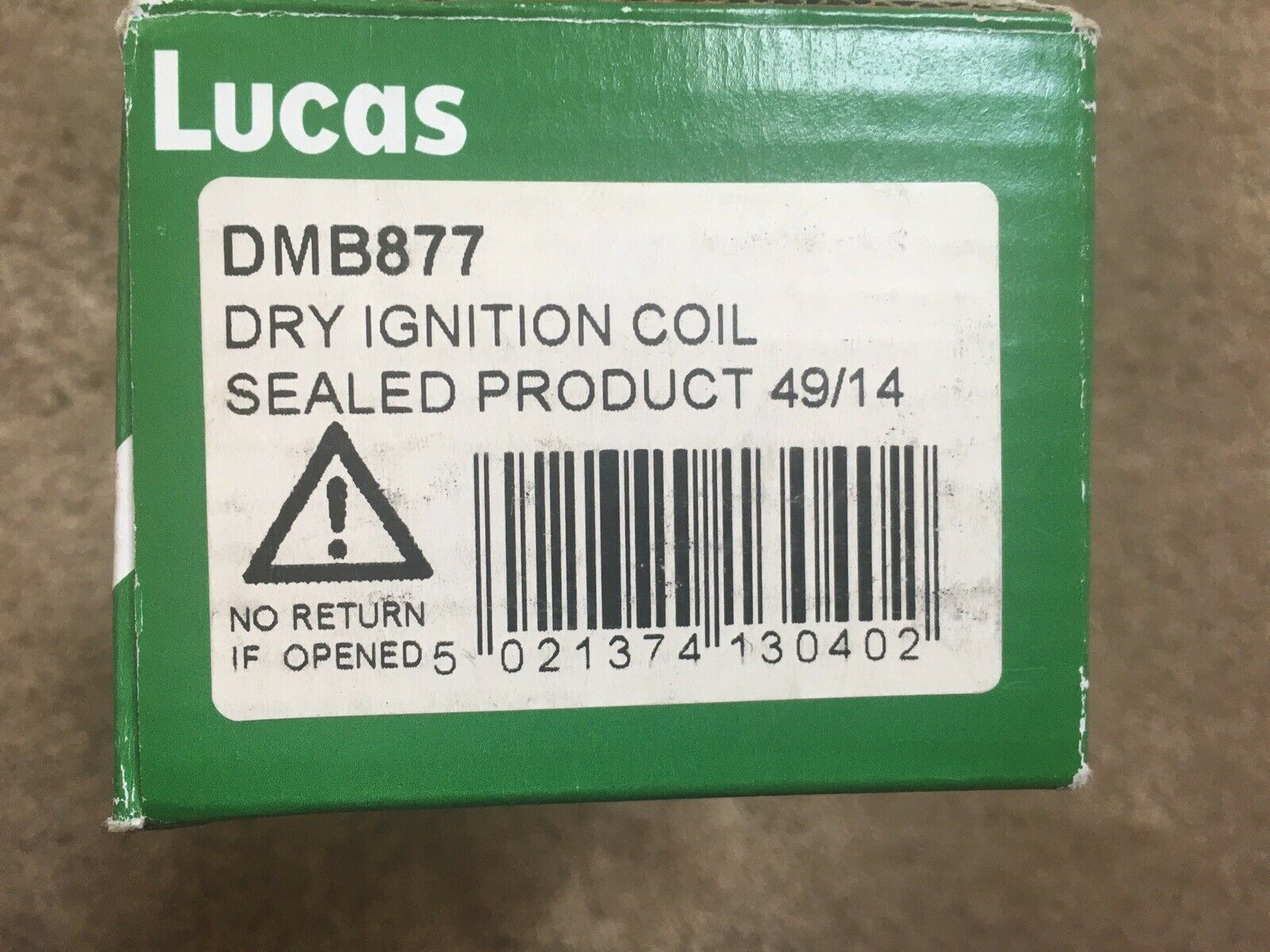 Lucas dmb877/ Ignition Coil