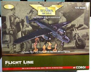 Corgi-PBJ-1J-B-25-Mitchell-BuNo-35843-VMB-433-US-Marine-Corps-1-72-NEW-Model