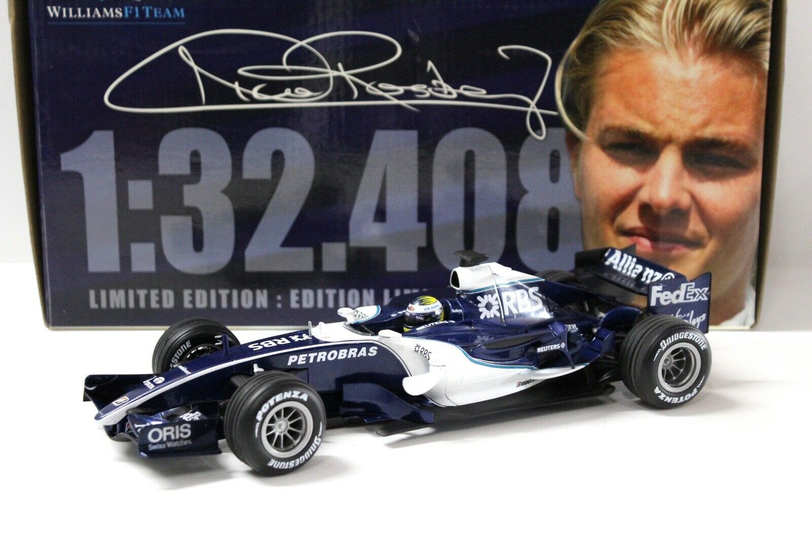 servicio considerado 1 18 Hot Wheels williams f1 fw28 fw28 fw28 rosberg 2006 bahrein New en Premium-modelCoches  El nuevo outlet de marcas online.