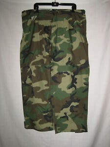 Gore Tex Impermeable Camuflaje Lluvia Pantalones Verde Militar Para Hombre L Corto Caza Pesca Ebay