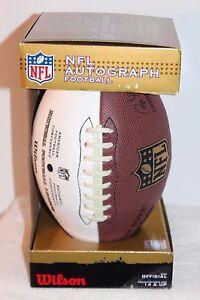 74a929257 A imagem está carregando Nfl-Autografo-Futebol-Donnie-Jones-Rams-Wilson-O-