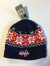 80b3ff4ebcd item 4 Washington Capitals Knit Beanie Toque Winter Hat Skull Cap NEW  Womens snowflake -Washington Capitals Knit Beanie Toque Winter Hat Skull  Cap NEW ...