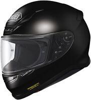 Shoei Rf1200 Solid Black Or White Motorcycle Helmet All Sizes Brand