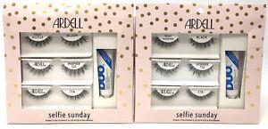 9e2844d41f2 6 Pairs Ardell false Eye Lash Kits SELFIE SUNDAY Demi Wispies Lashes ...