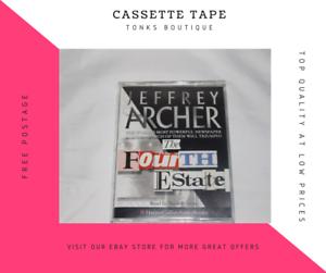 Jeffrey-Archer-The-Fourth-Estate-Double-Cassette-Tape-Audiobook