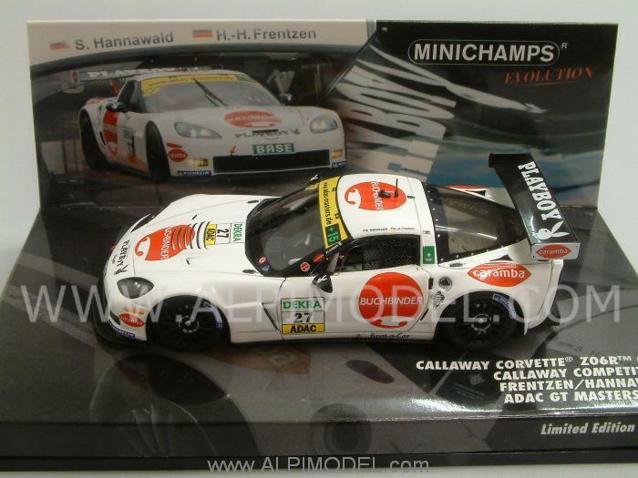 Entrega directa y rápida de fábrica Chevrolet Corvette Z06.R GT3 ADAC GT Masters Masters Masters 2011 1 43 MINICHAMPS 437111427  punto de venta de la marca