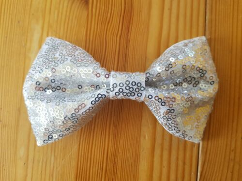 gift accessories lucky dip Large sequin sparkly hair bow cute girls