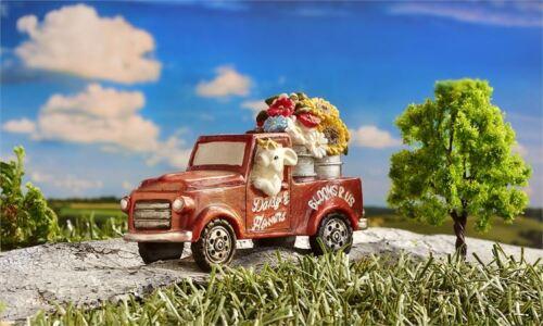 Miniature Dollhouse FAIRY GARDEN Garden Truck Accessories