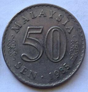 Parliament-Series-50-sen-coin-1985