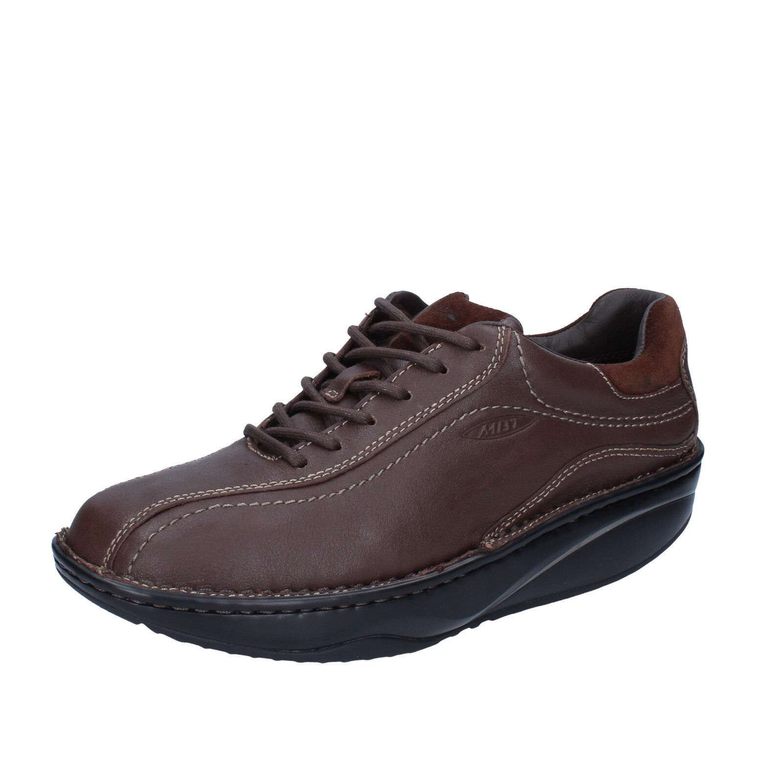 Men's shoes MBT 5   5,5 () sneakers brown leather dynamic BY261-B