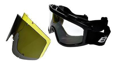 39361c870b3 Birdz Vulture Interchangeable MX Motorcycle Goggles 3 Lenses Kit ML