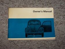 1968 Volkswagen VW Beetle Bug Coupe Convertible Owner Operator User Guide Manual