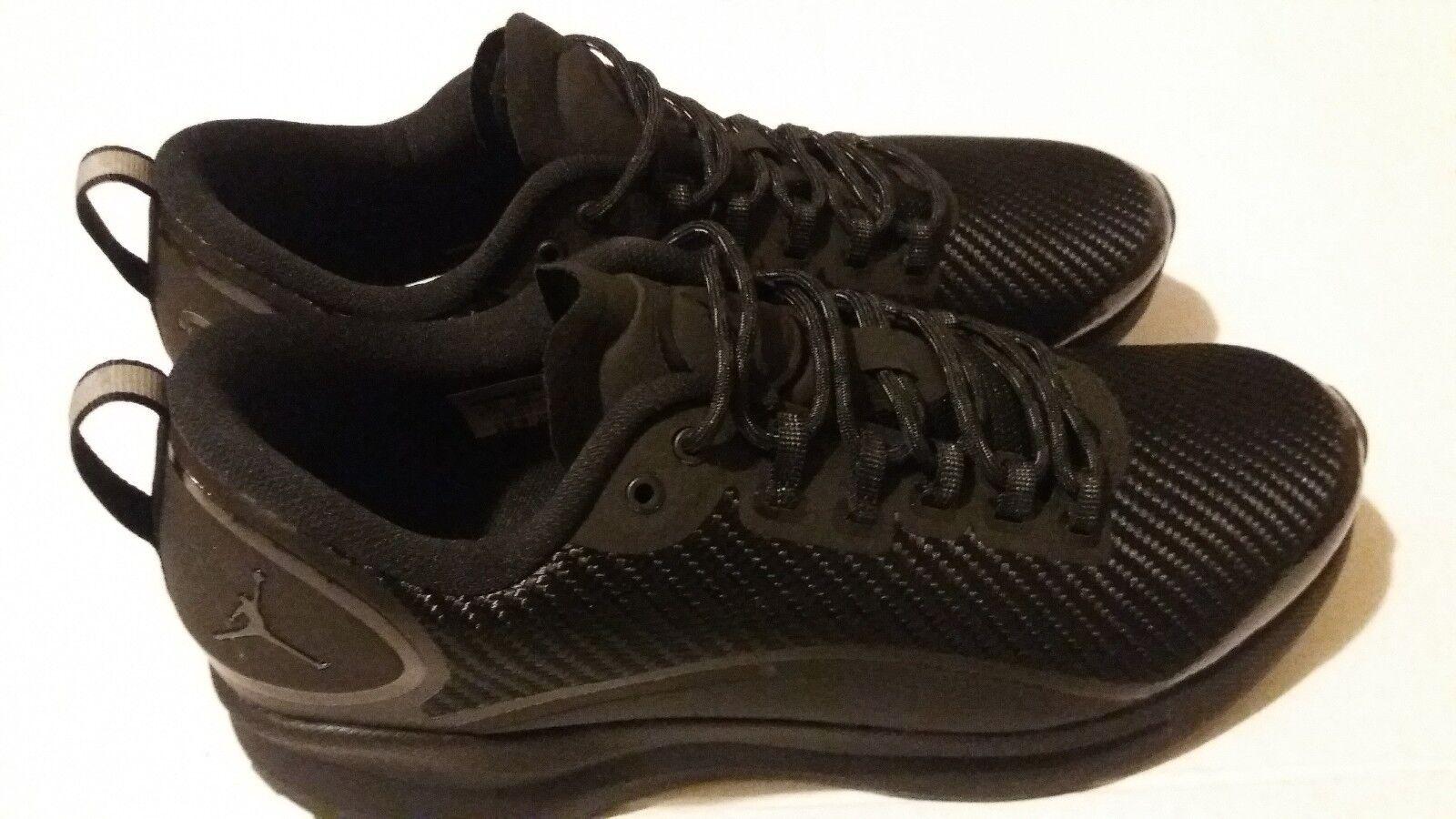 Nike Air Jordan Zoom Tenacity TRIPLE BLACK ALL AH8111-011 size 9.5Training shoes