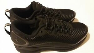 e3edfdc3e1659 Nike Air Jordan Zoom Tenacity TRIPLE BLACK ALL AH8111-011 size 9.5 ...