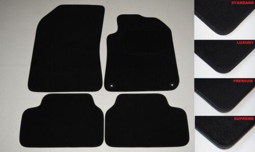 W201 Saloon 1982-1993 BLACK TAILORED QUALITY CAR MATS MERCEDES-BENZ 190