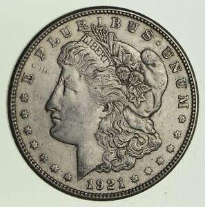 1-VF-XF-1921-P-Morgan-Silver-Dollar-90-1-00-Bullion-Eagle-Last-Year-Issue