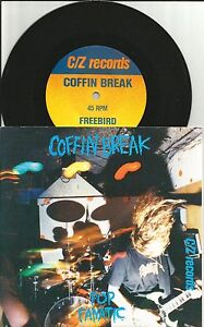 COFFIN-BREAK-Pop-Fanatic-Free-Bird-LYNYRD-SKYNYRD-Remake-cover-7-INCH-Vinyl-45