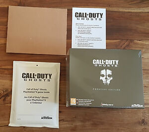 CALL-OF-DUTY-GHOSTS-Edition-Prestige-Collector-Sony-Playstation-PS4-Neuf-Blister