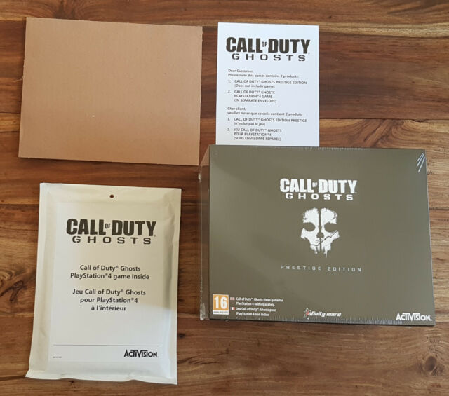 CALL OF DUTY GHOSTS Edition Prestige Collector Sony Playstation PS4 Neuf Blister