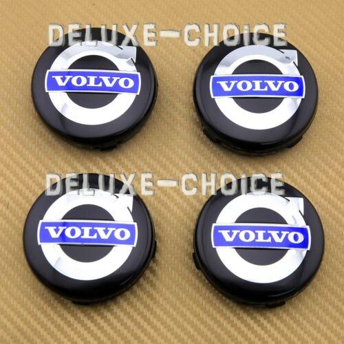 "SET OF 4 PCS LOGO CAP HUB CENTER for FACTORY VOLVO CAR ALLOY WHEEL 64MM 2.52/"""